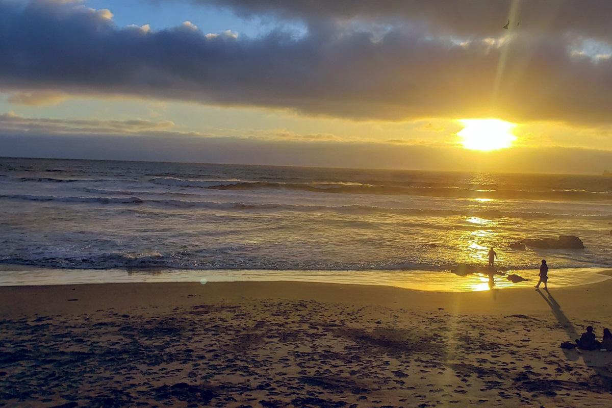 Beach at Playa Arcangel