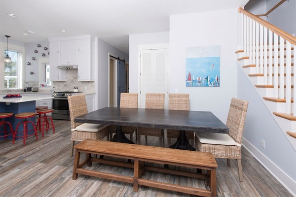 Great dining table for friends and family