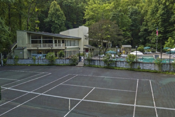 Chalet Village Clubhouse Community Tennis Courts. Located just a 1/2 mile from the chalet