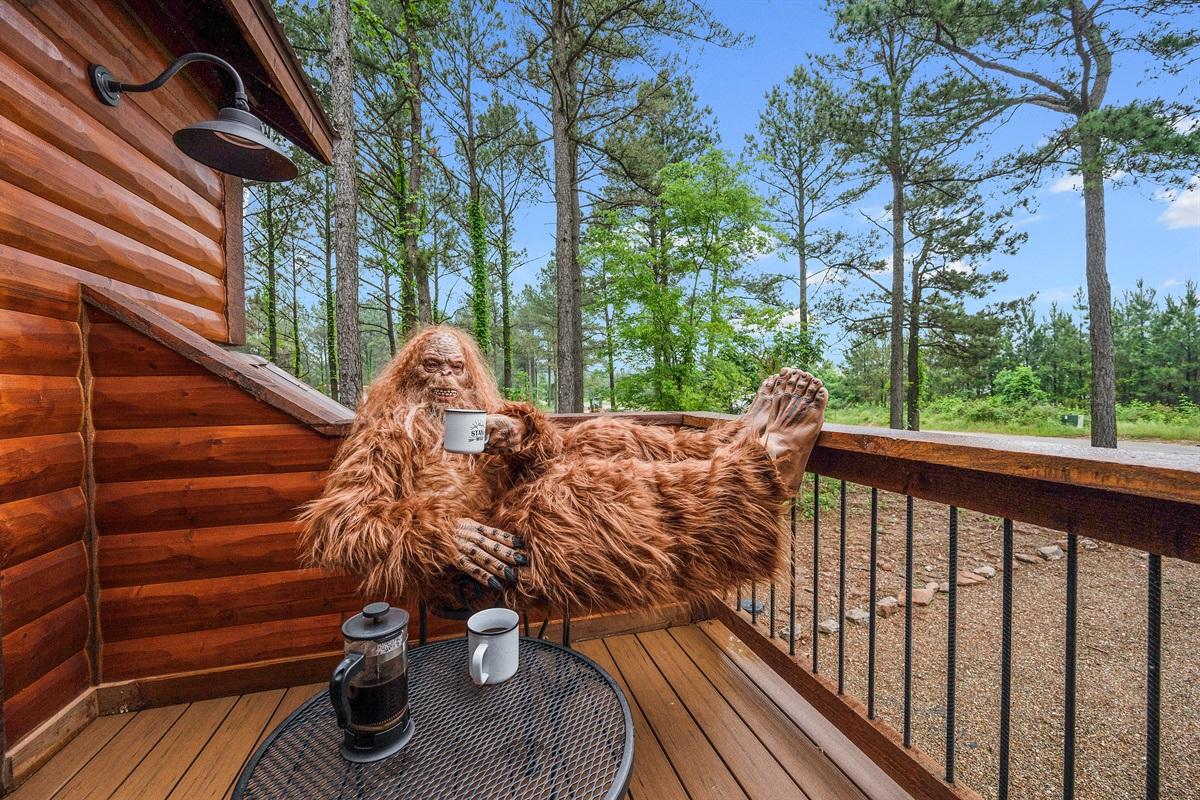 Morning Coffee on Balcony