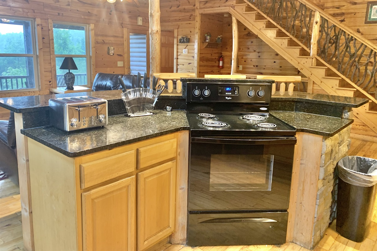 Kitchen Island opens to the Great Room. Perfect for Entertaining.