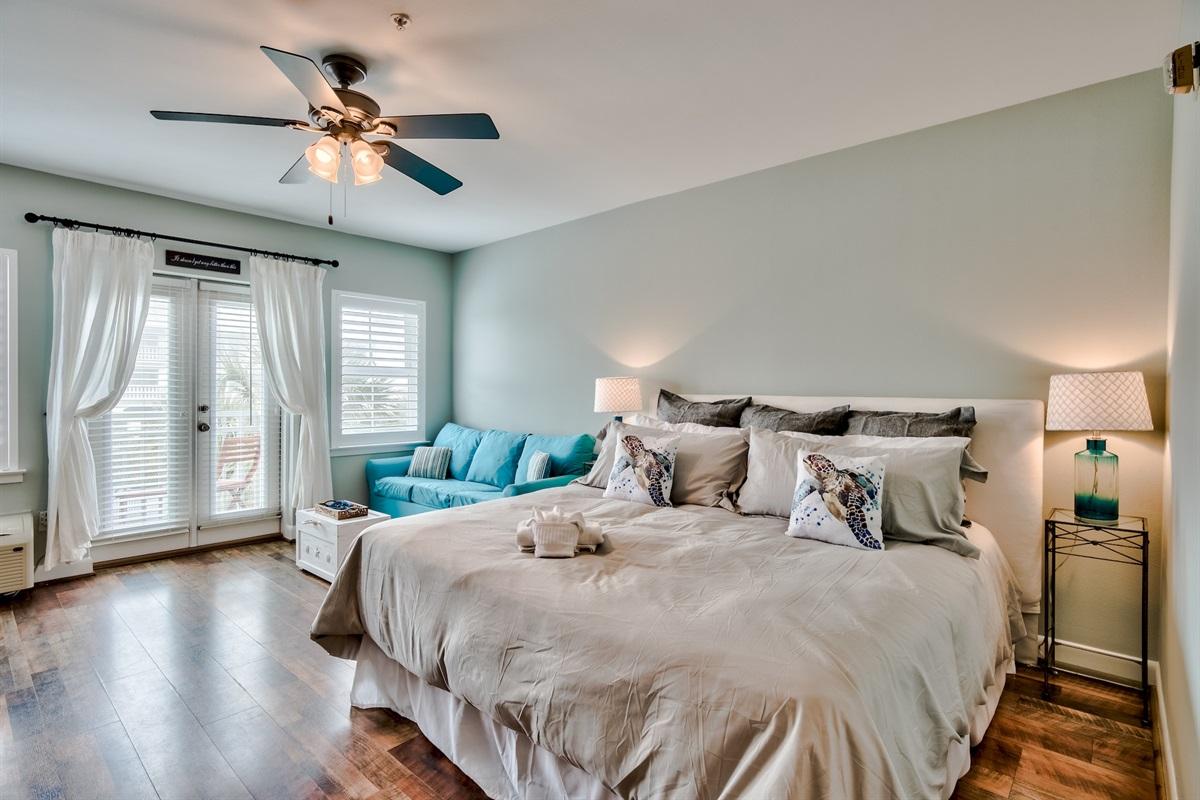 King Bed with Sleeper Sofa
