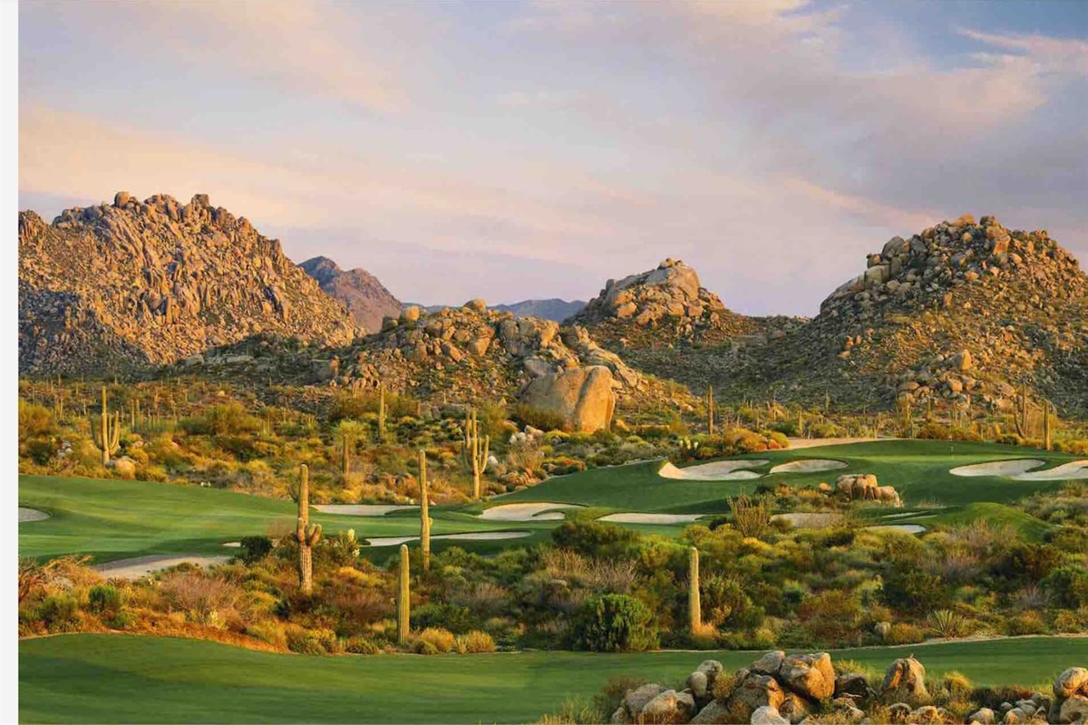 Scottsdale is the golf mecca of the Southwest US.  Over 160 local courses