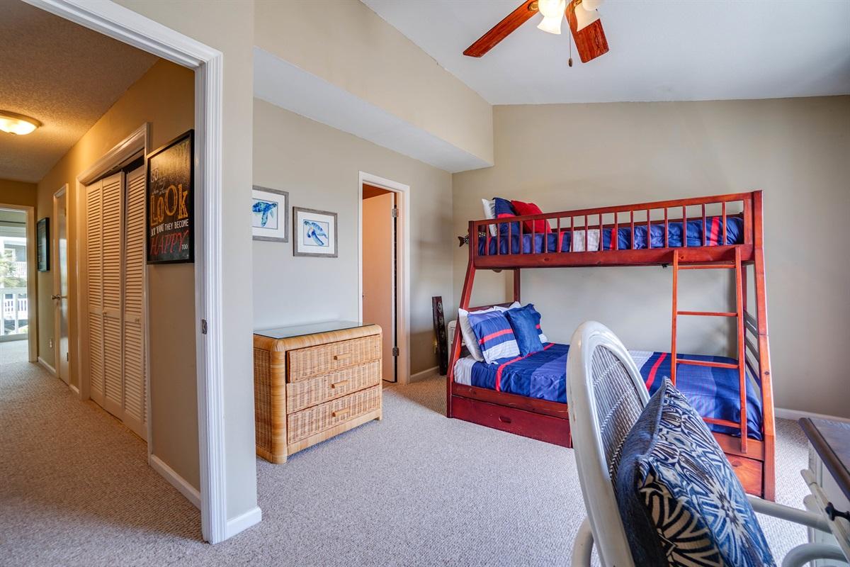 Bunk Bedroom on 2nd floor