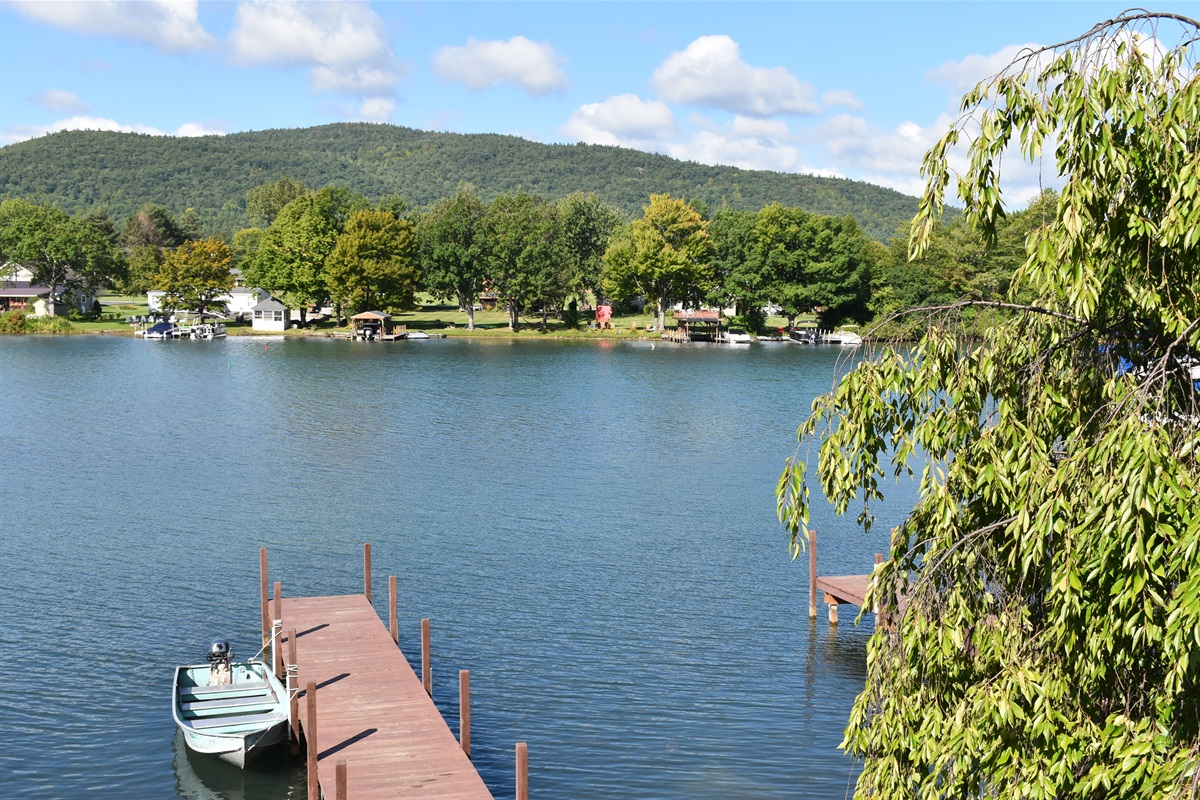 Great Waterfront with Stunning Views of Beautiful Lake George.