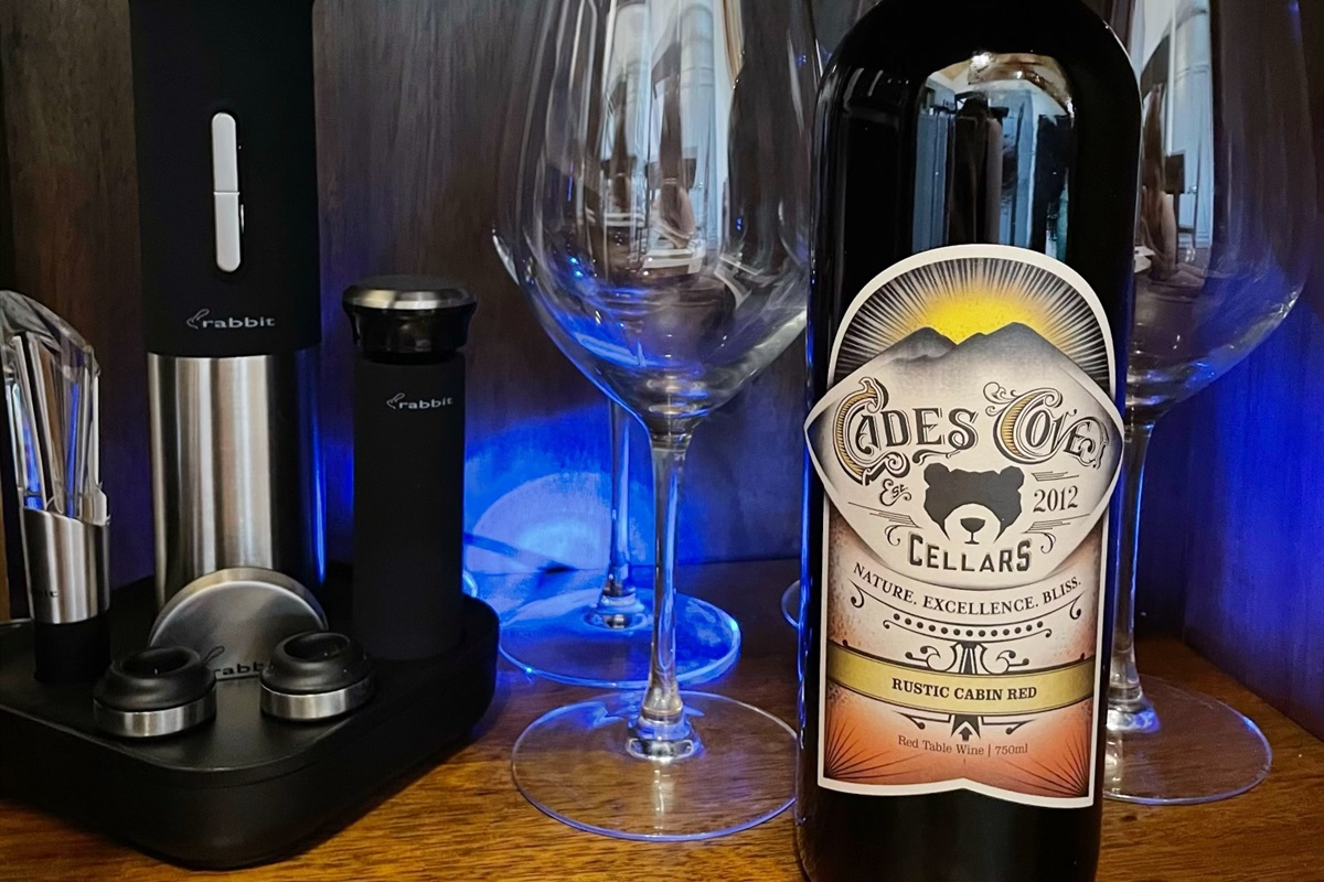 Enjoy Cades Cove Cellars very close to our cabin! They do free tastings too. We love the 'Rustic Cabin Red.'