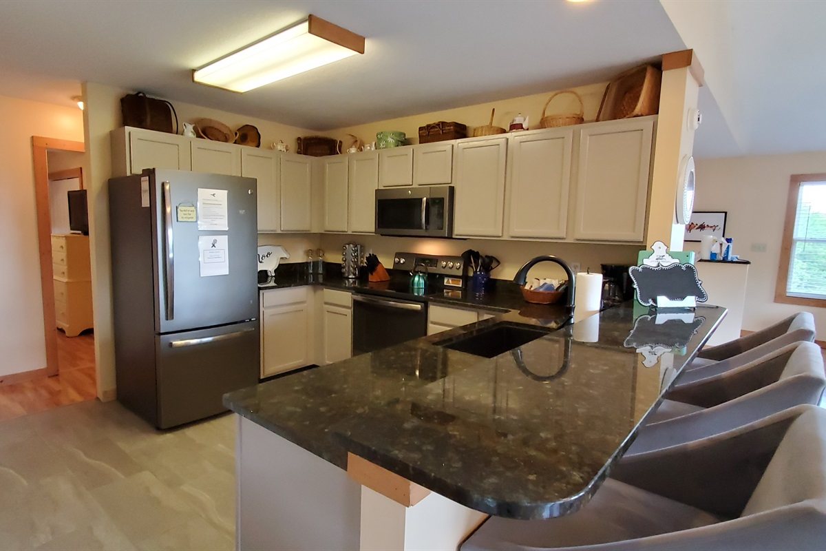 Newly remodeled kitchen for making those home cooked meals!