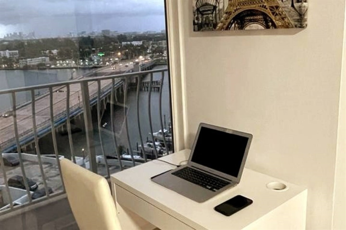 Work from home desk