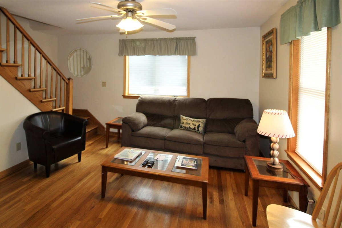 Comfortable, spacious living room