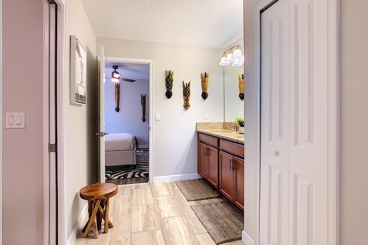 Bathroom Between Bedrooms 3 & 8