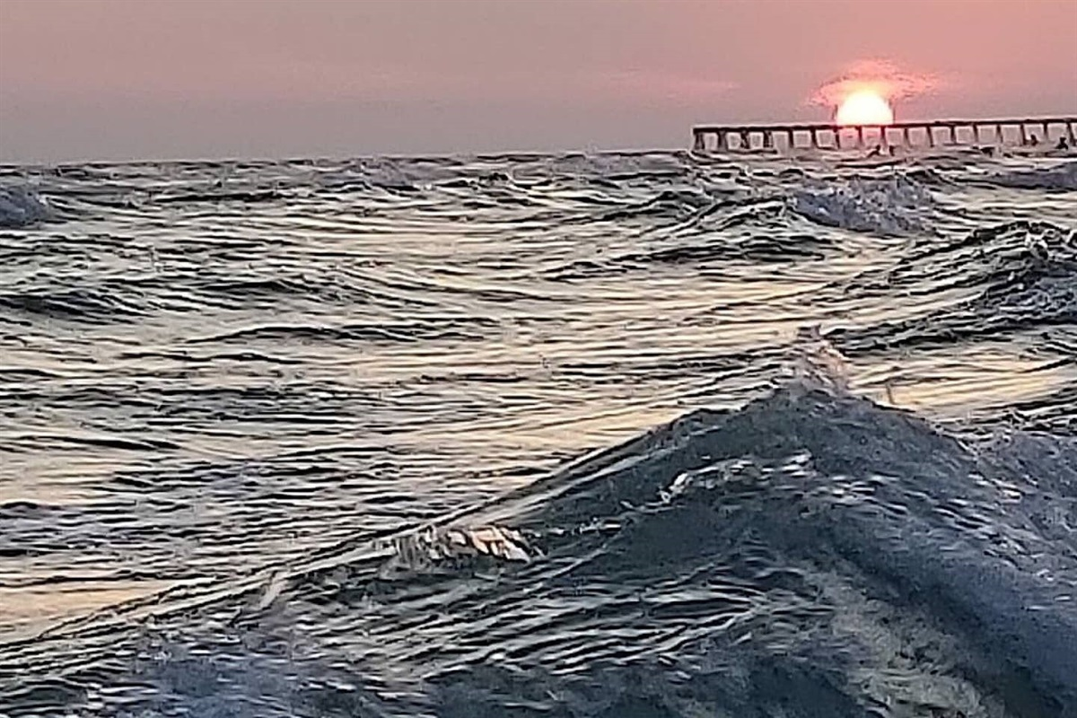 Gorgeous PCB sunset