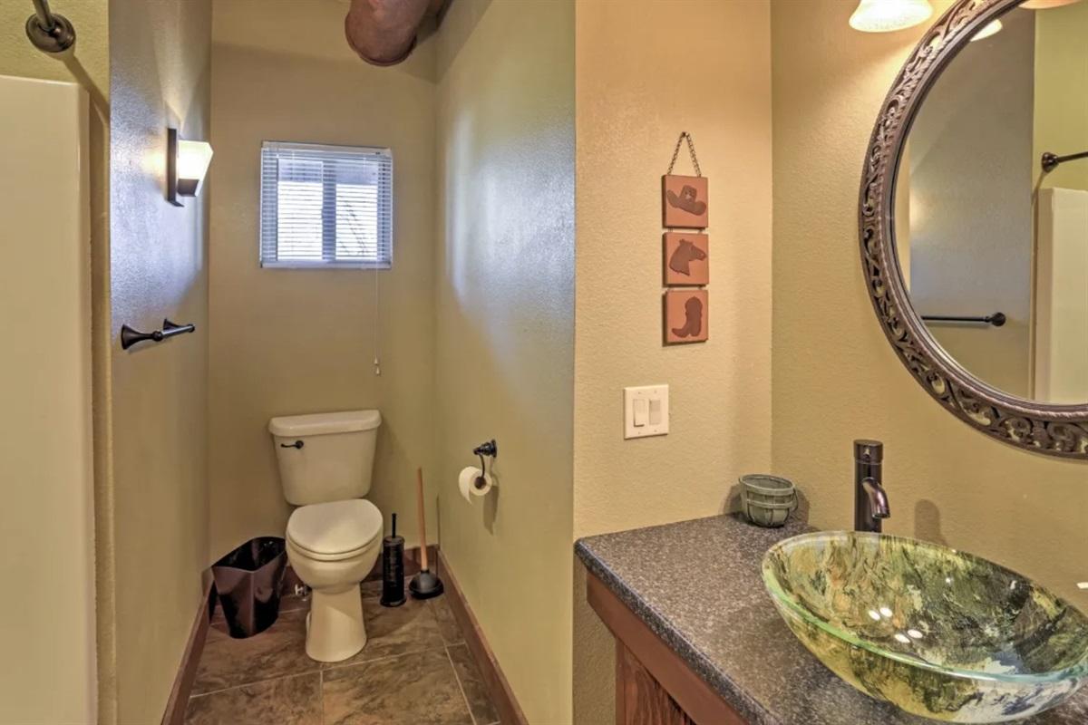 8 bathrooms total