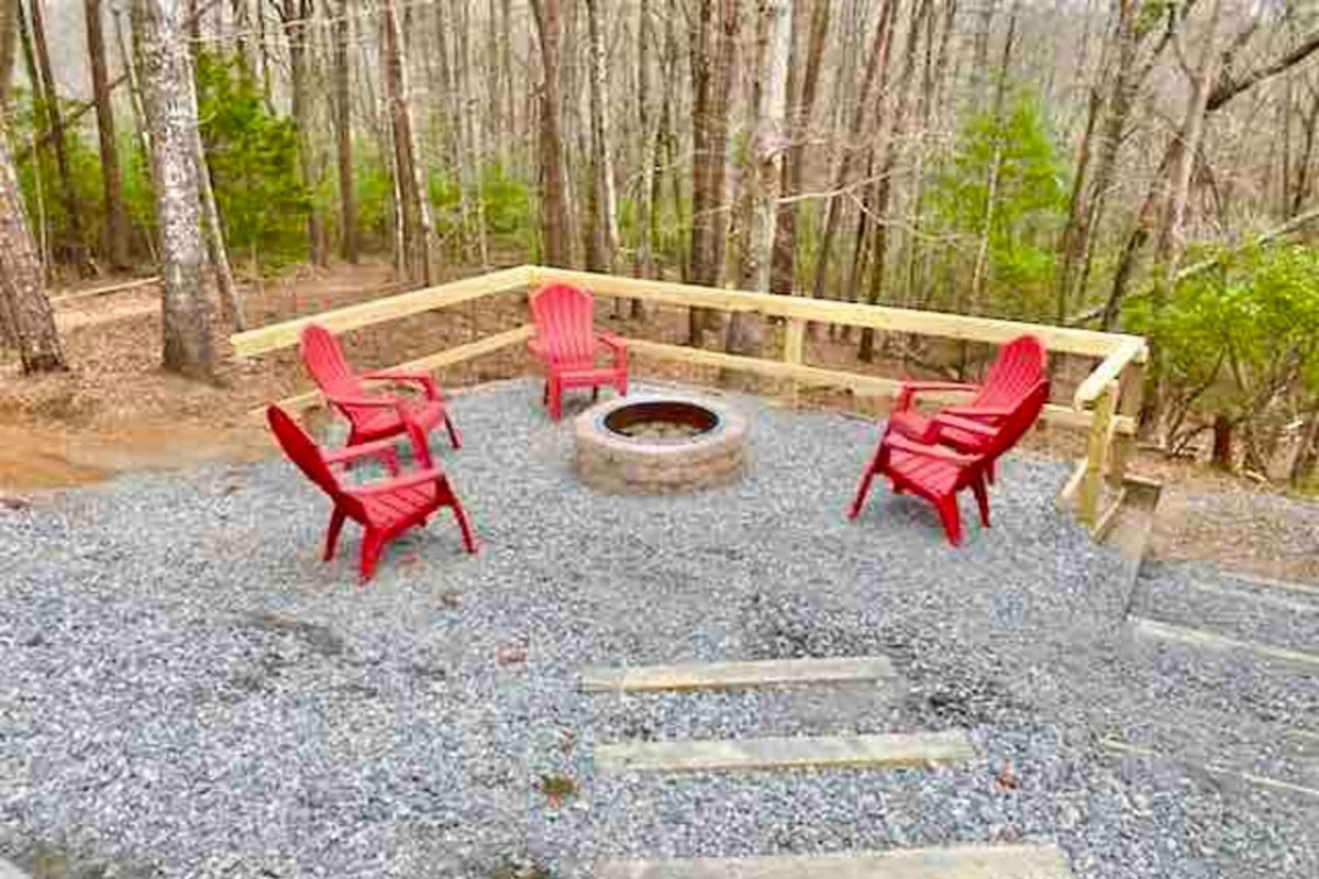 Brand New Fire Pit