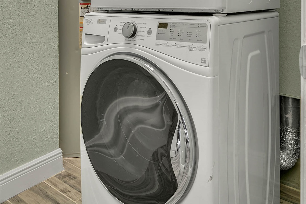 Washer/Dryer (FREE to use)