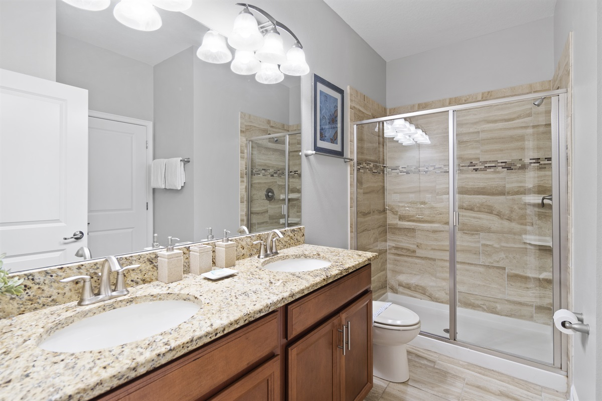 Washroom With Foyer & Room Access