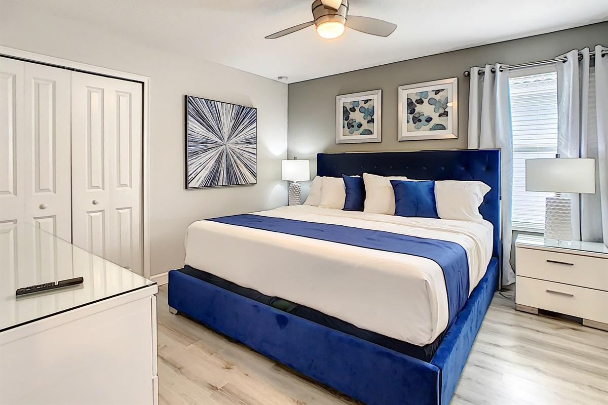 Bedroom 5-2nd Floor-King Bed