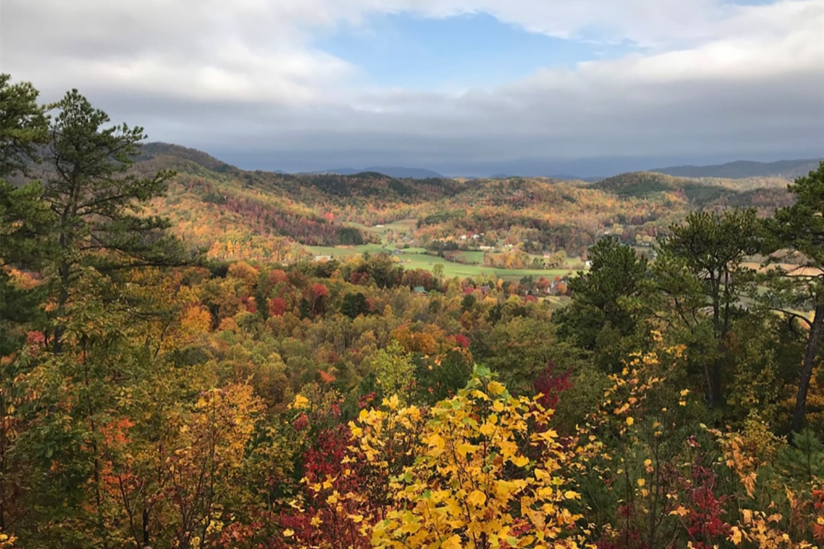 Fall views from the cabin
