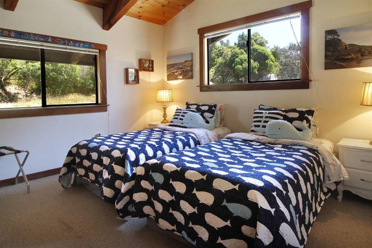 Ocean Bluff Serenity Twin Bedroom