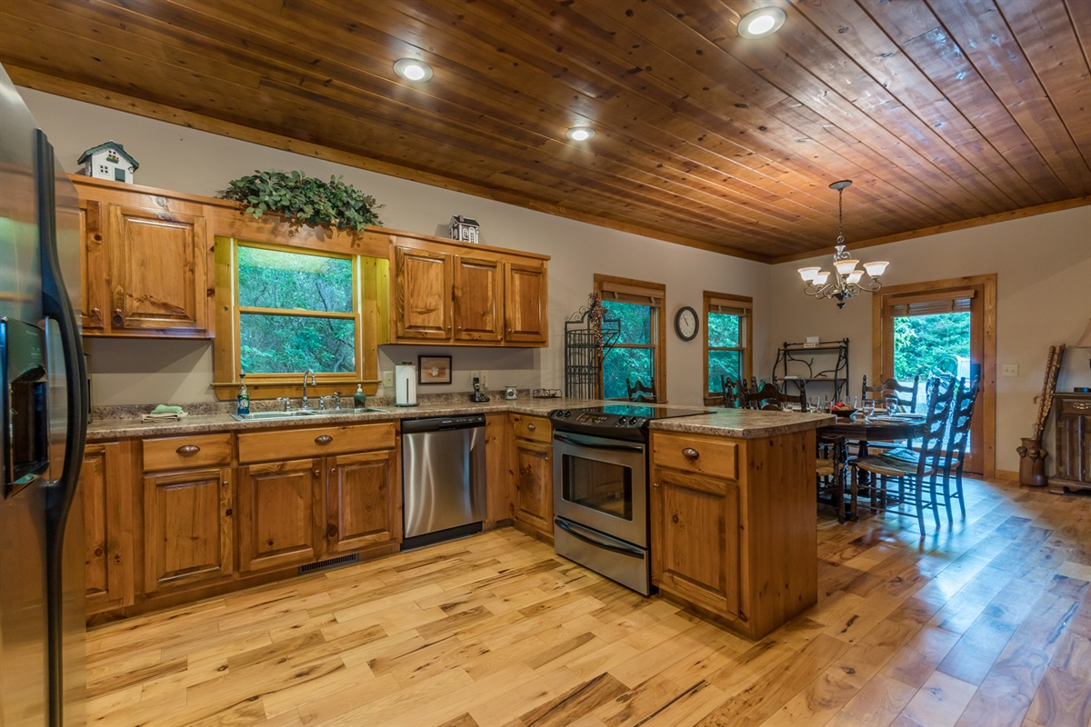 All Stainless Appliances Cook and Entertain