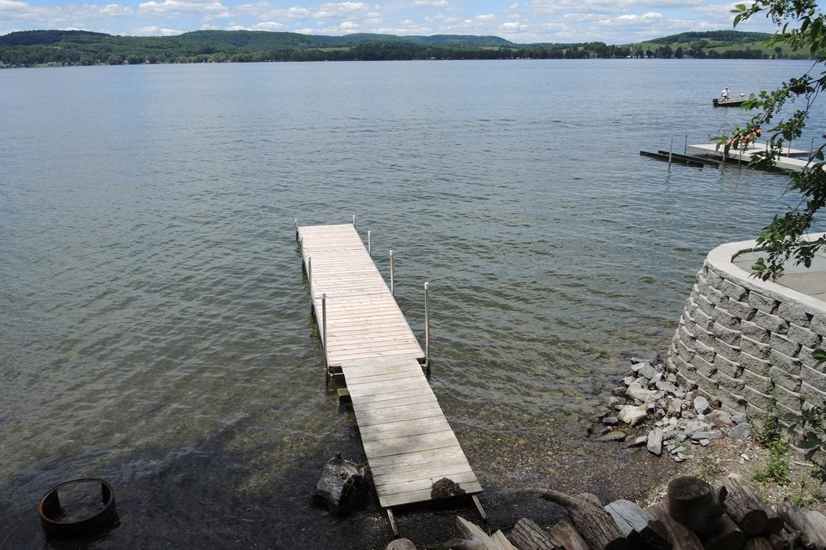 Wide Waterview - Dock