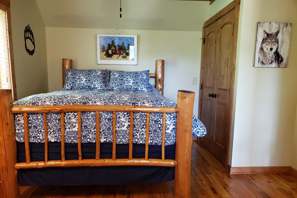 Upper Level Queen Bedroom #2