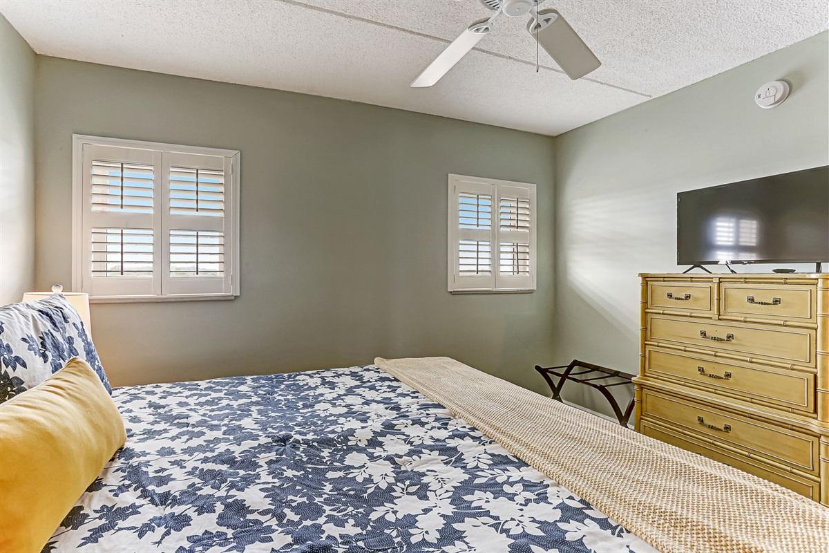 TVs in Both Bedrooms