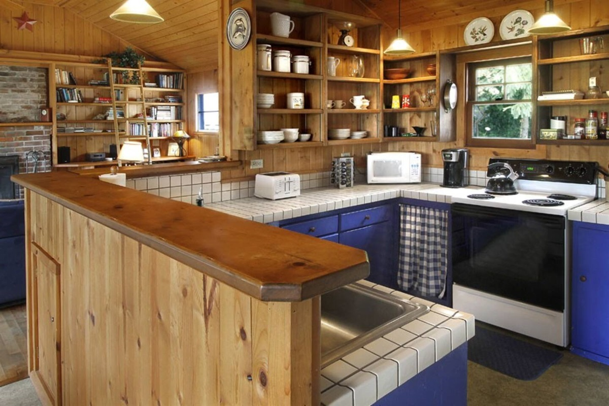River View Cottage Kitchen from Dining