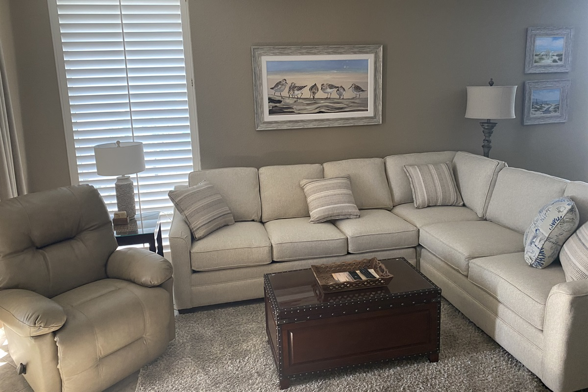 New sofa sectional