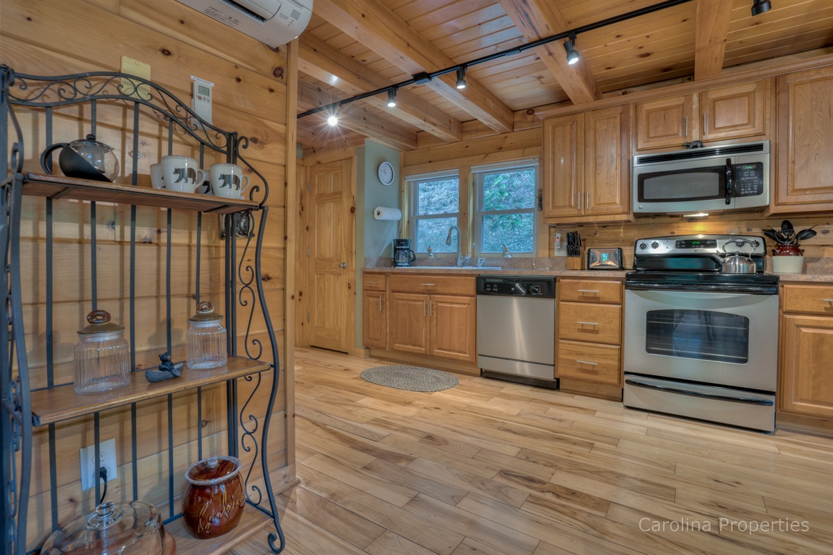 Beautiful kitchen with high-end appliances