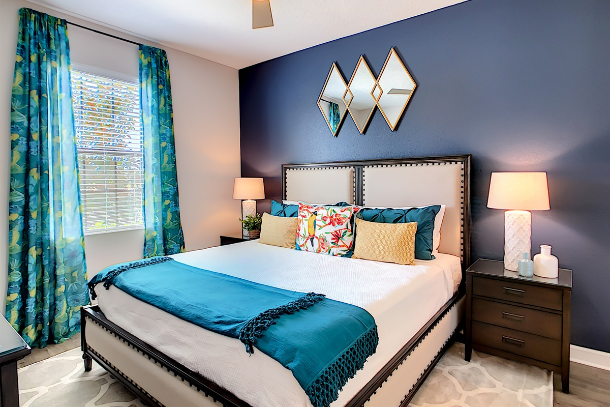 Master  Bedroom 2 - King Bed - First Floor