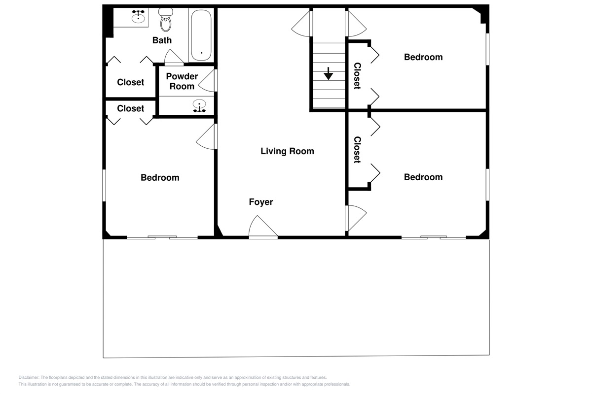 Lower level layout