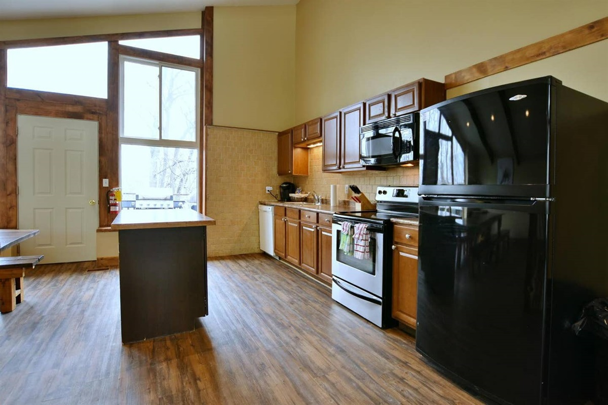 Fully stocked kitchen with everything you need to cook a gourmet meal for your large group