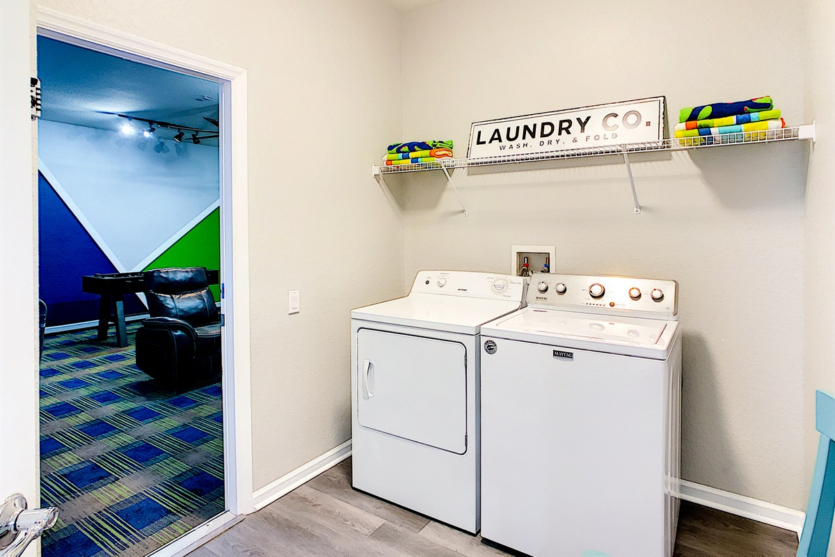 Laundry Machines - FREE To Use