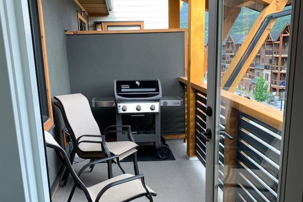 Deck with Seating and BBQ