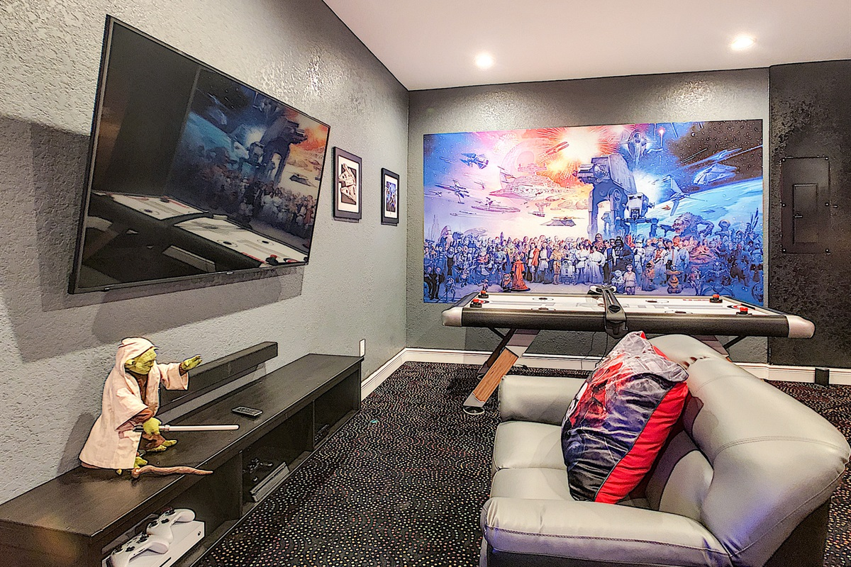 """65"""" Television With PS4 & Xbox"""