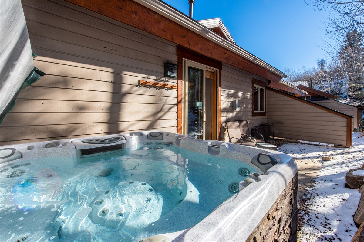Top of range hot tub.