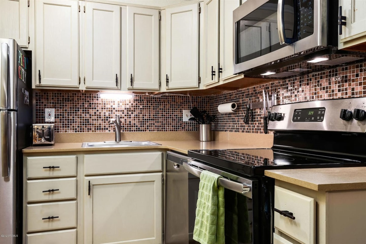 Great kitchen, fully equipped