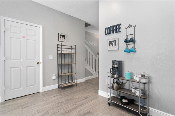 Extra shelving for pantry items