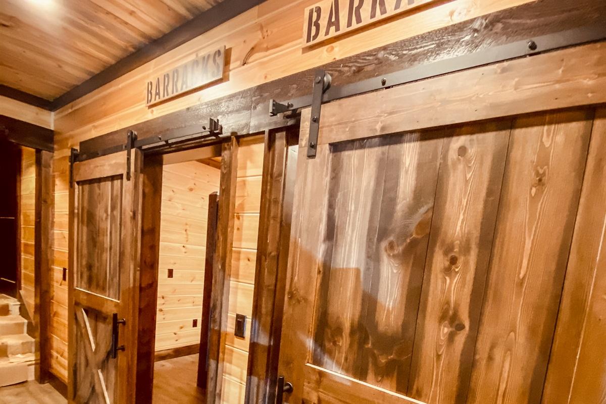 Barracks (Two Bunk Rooms)