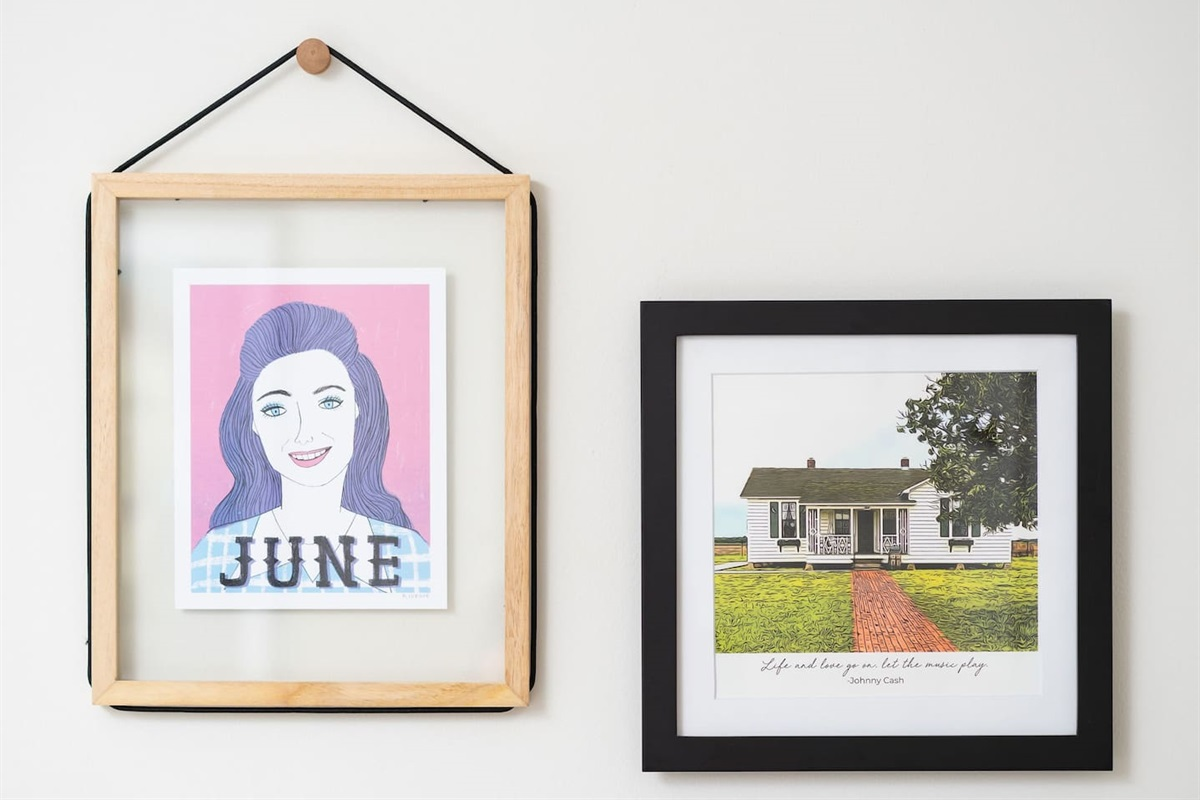 A tribute to his lifelong love and fellow country music icon, June Carter Cash and his humble beginnings at his childhood home