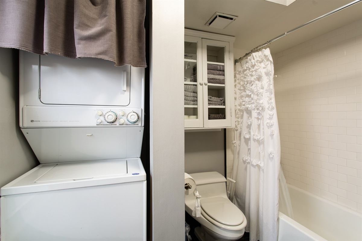 Washer/Dryer in unit