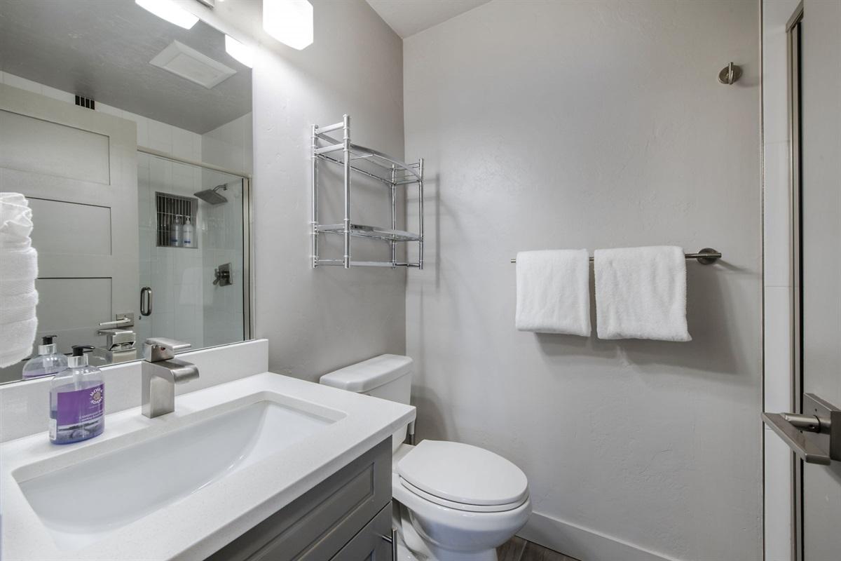 Queen Bedroom ensuite shower room