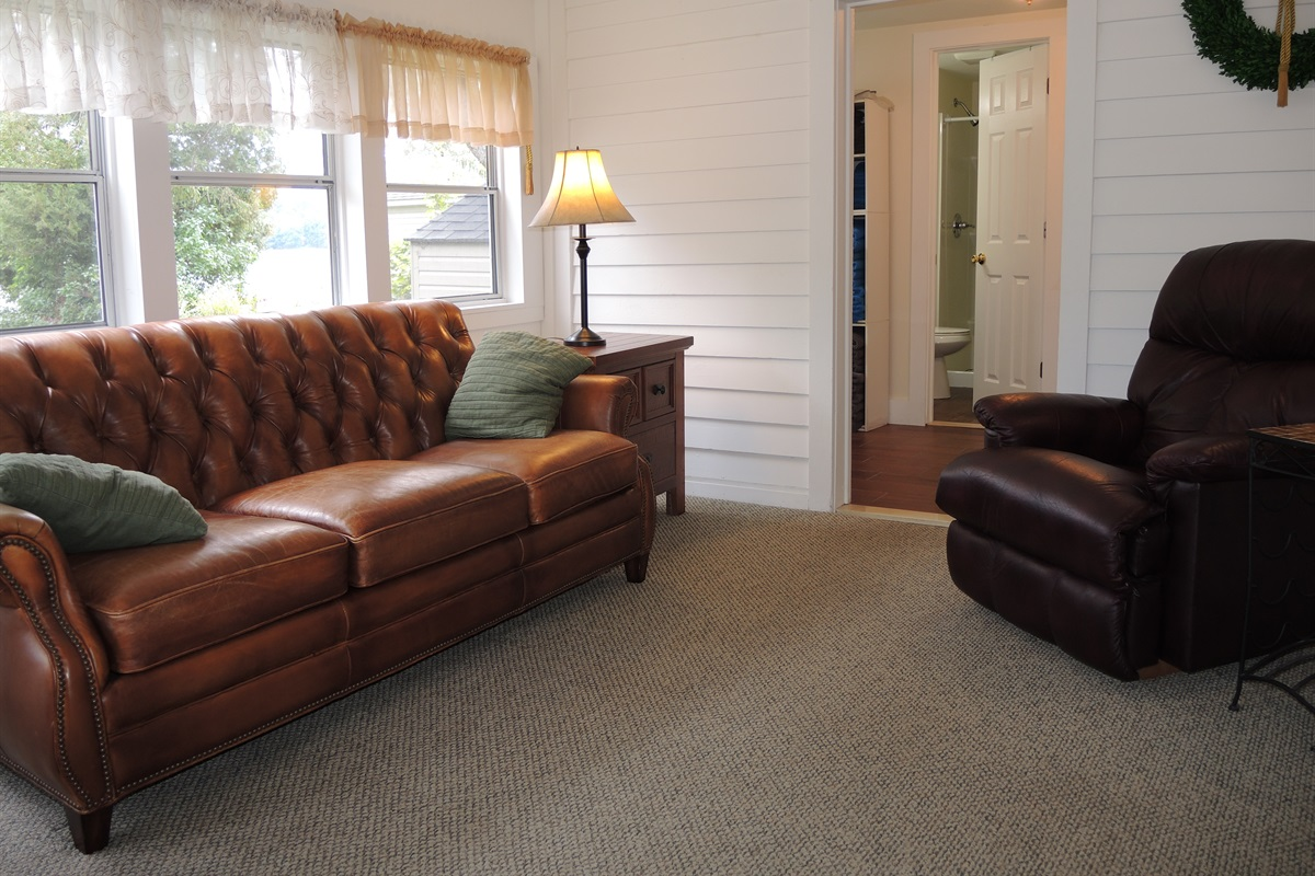 Sunroom to Laundry and two bathrooms