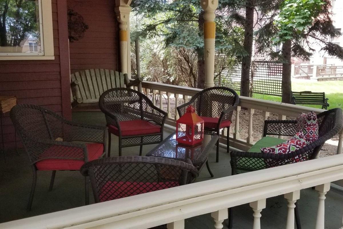 Common Area - Wraparound Porch