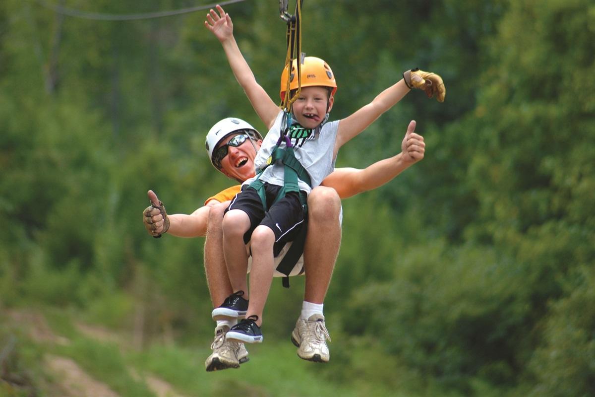 Branson has plenty of adventure sports to offer!