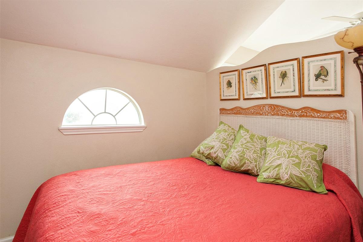 Bedroom #3 on Third Floor with Super Comfy Queen