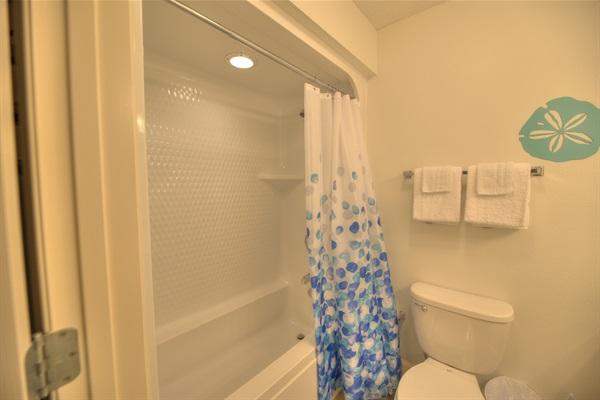 2nd bathroom tub/shower