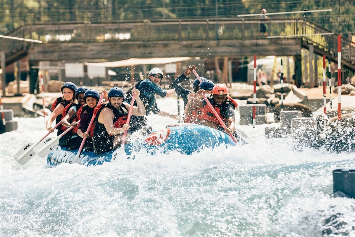 US National Whitewater Center:Water sports park.Drive time: 25 minutes.