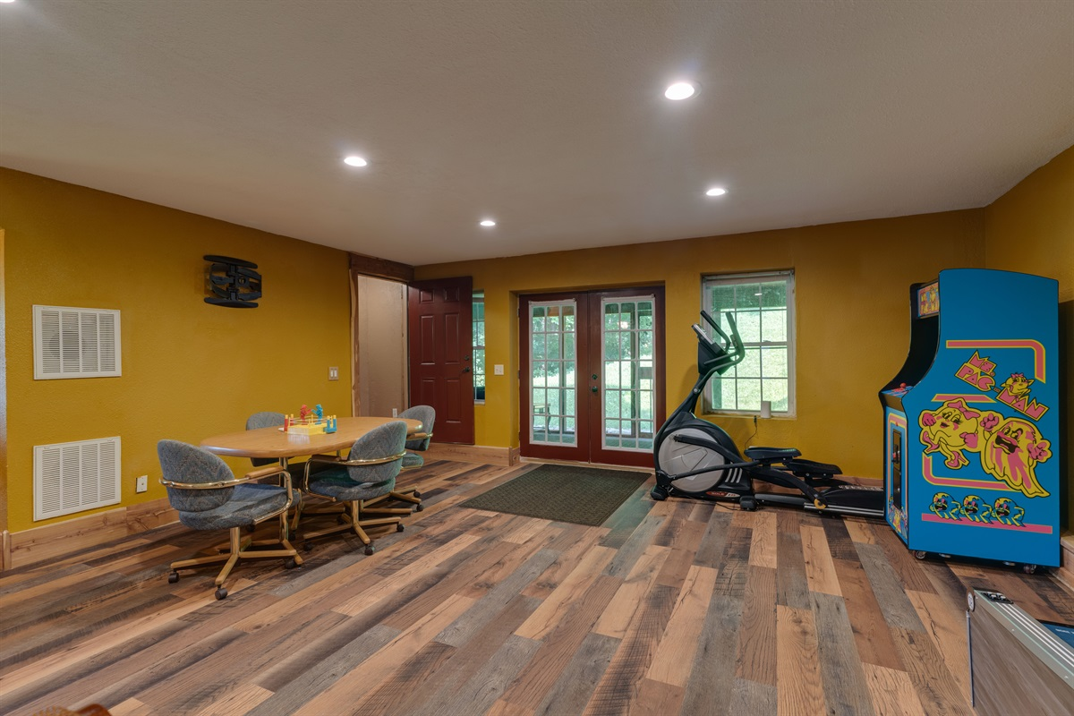Our family enjoyed a lovely stay in this home. It was rainy while we were there, but we had plenty of things to do. We loved the game room with skee ball, a real arcade game, a poker table, and lots of board games. -Sandee July 2021