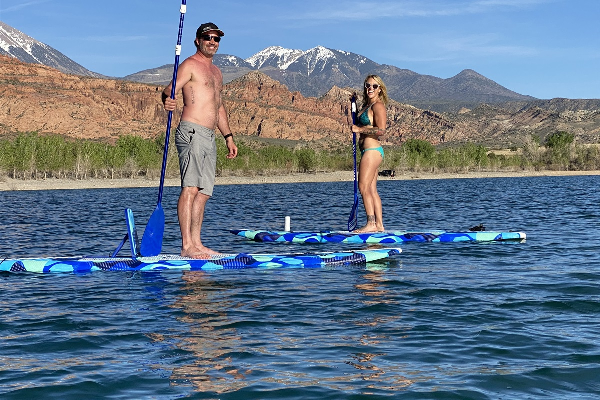 Paddle Boards Included